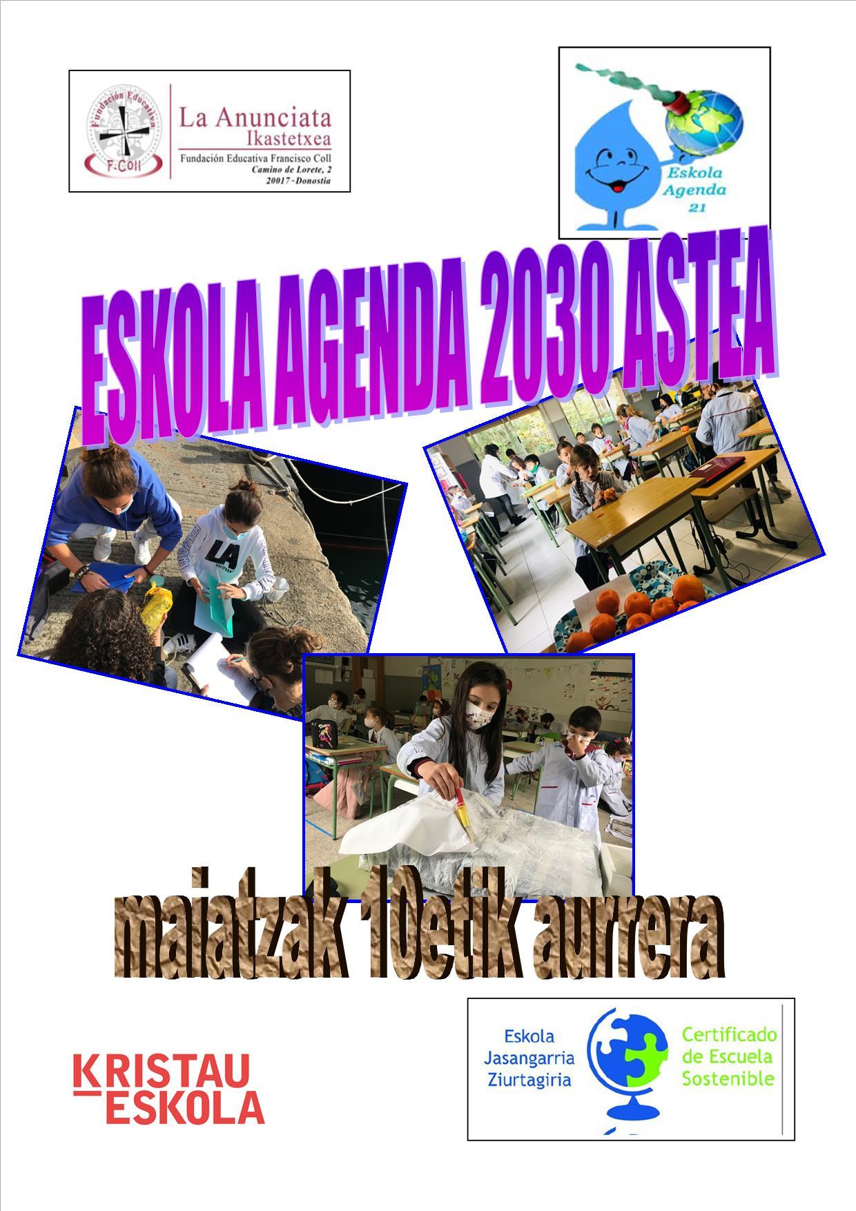 Eskola Agenda 2030 astea